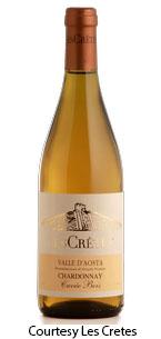 Les Crêtes, VdA Chardonnay Cuvée Bois DOC
