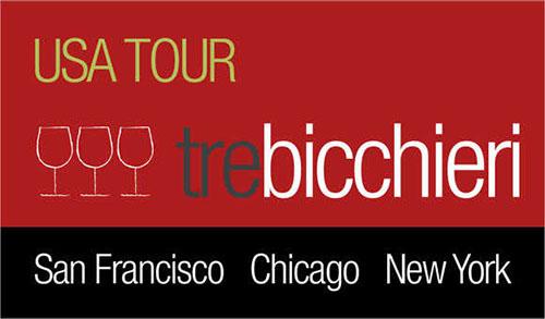 Gambero Rosso's Tre Bicchieri USA Tour 2013