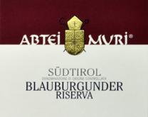Muri Gries, A.A. Blauburgunder Abtei Muri Riserva DOC