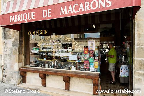 Nadia Fermigier's famous pastry shop in Saint Emilion