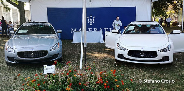 Greenwich, CT: The Maserati tent at the Greenwich Wine+Food Festival