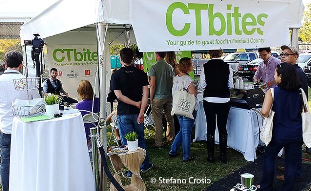 Greenwich, CT: The CTbites Blogger Lounge at the Greenwich Wine+Food Festival