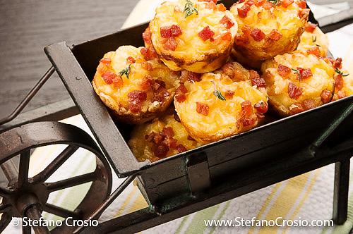Pancetta and potato croquettes