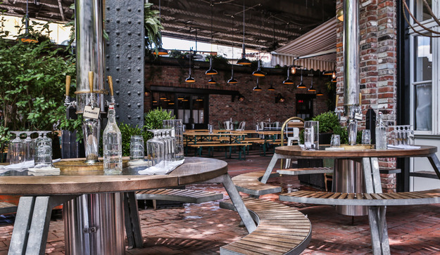 Standard Hotel, NYC: The Beer Garden (courtesy of Standard Hotels)