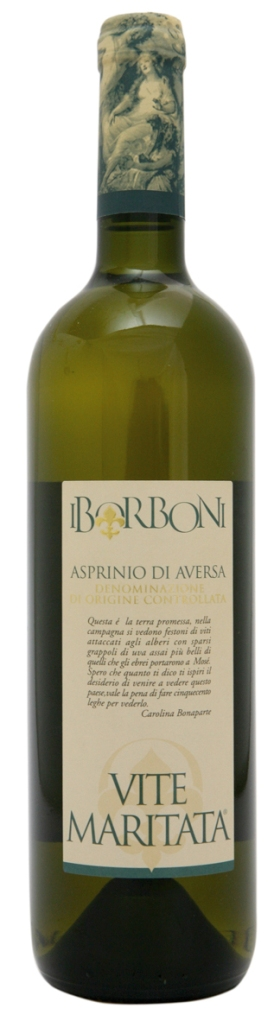 "Wine Review: I Borboni, Asprinio di Aversa ""Vite Maritata"" DOC 2011"