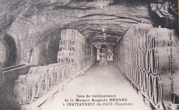 Chateauneuf-du-Pape Wine Aging Cellar - Courtesy of Fédération des syndicats des producteurs de Châteauneuf-du-Pape