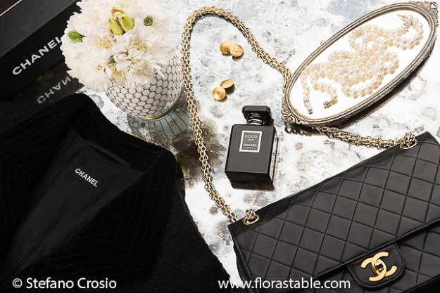 Assortment of Chanel items