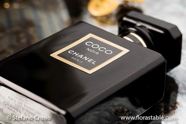 Coco Chanel perfume bottle