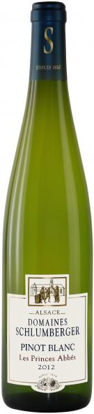 "Domaines Schlumberger, Pinot Blanc  ""Les Princes Abbés"" Alsace AOC (Image courtesy of Domaines Schlumberger)"