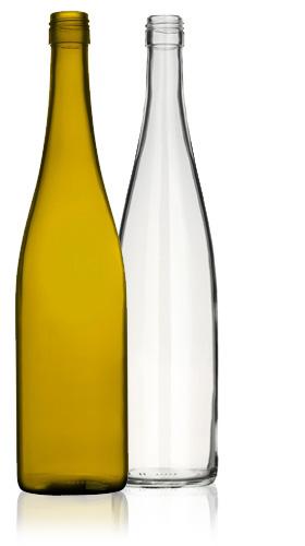 Flûte (or Rhine) Bottles (courtesy of Chandler Resources)