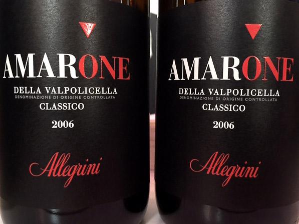 Allegrini, Amarone della Valpolicella Classico 2006
