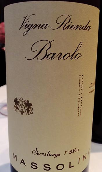 Massolino, Barolo Vigna Rionda Riserva 2000