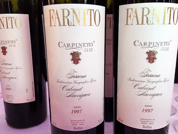 Carpineto, Cabernet Sauvignon Farnito 1997
