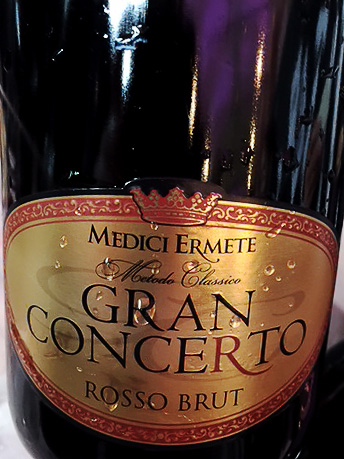 Ermete Medici, Gran Concerto Rosso Brut 2011